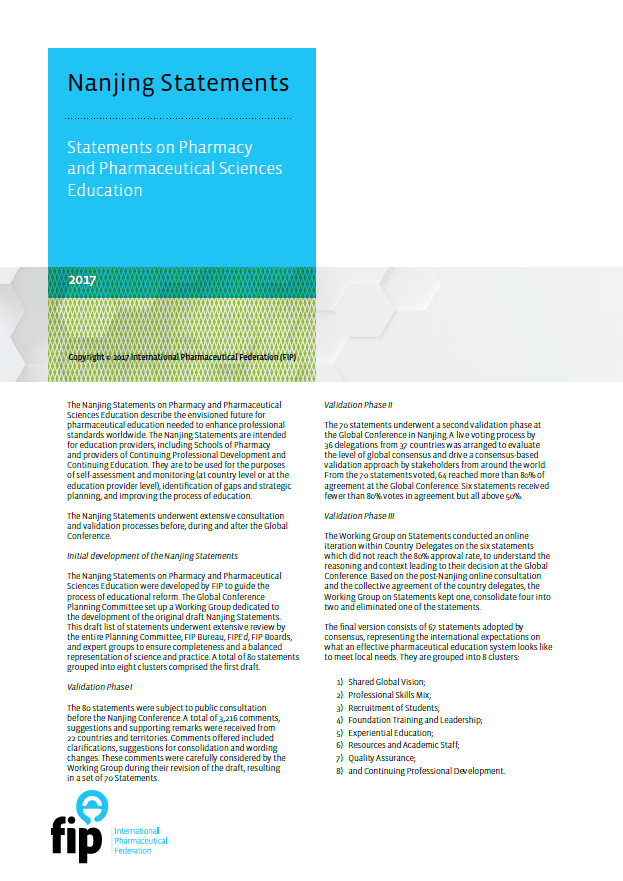 Education Reports Fip International Pharmaceutical Federation