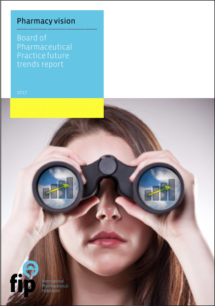 Cover of FIP's pharmacy vision report