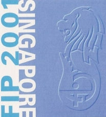Congress logo of World Congress of Pharmacy and Pharmaceutical Sciences, Singapore 2001