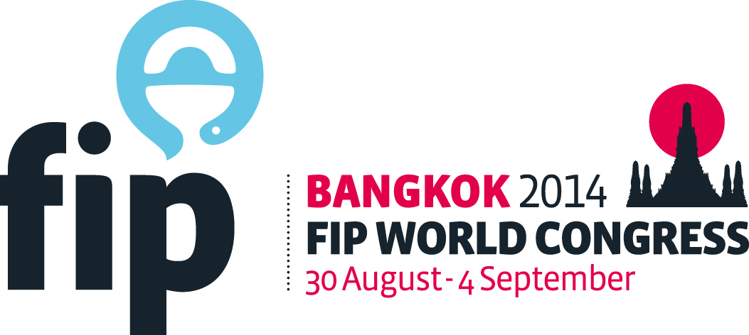 Congress logo of World Congress of Pharmacy and Pharmaceutical Sciences Bangkok 2014