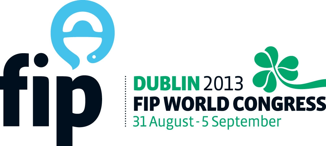 Congress logo of World Congress of Pharmacy and Pharmaceutical Sciences, Dublin 2013