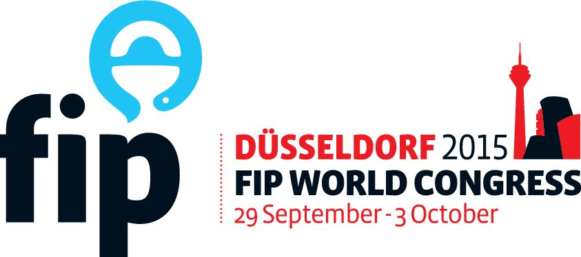 Congress logo of World Congress of Pharmacy and Pharmaceutical Sciences, Dusseldorf 2015