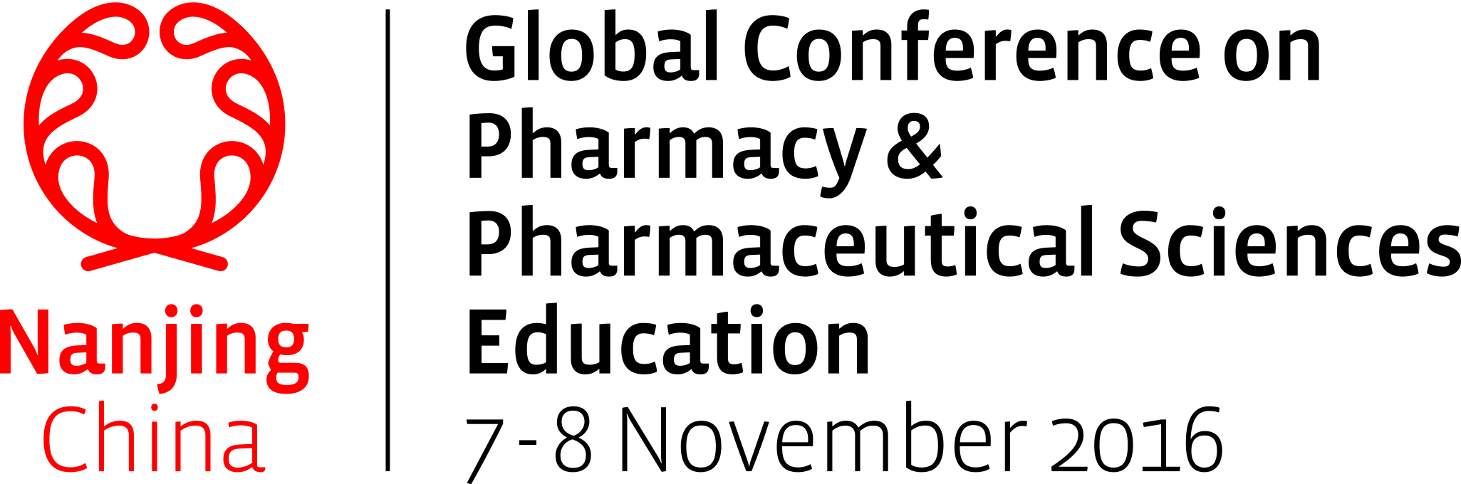 Conference logo of Global Conference on Pharmacy and Pharmaceutical Sciences Education, Nanjing 2016