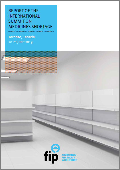 Cover of International Summit on Medicines Shortage